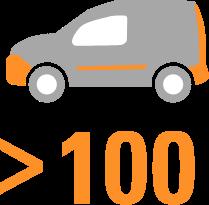 ADU-Servicefahrzeuge